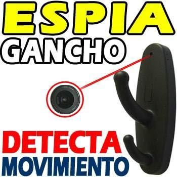 Electrolandia® Perchero Camara Espia HD