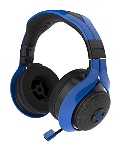 Gioteck FL-300 Wired Stereo Headset with Removable Bluetooth Speakers - Blue by Gioteck (Image #1)