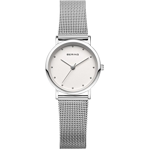BERING Time 13426-000 Women's Classic Collection Watch with Mesh Band and scratch resistant sapphire crystal. Designed in Denmark.