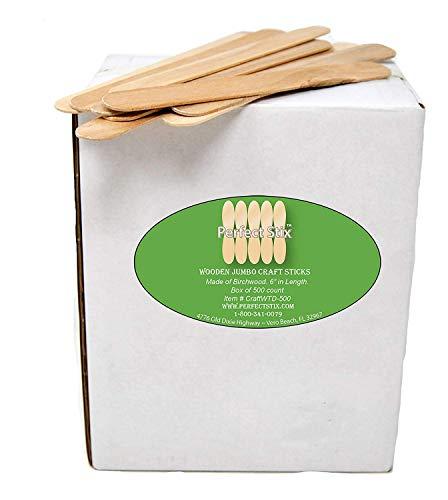 Perfect Stix Jumbo Craft Sticks (Pack of 500ct) (Limited Edition)