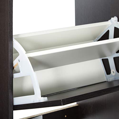 Amazon.com: IKEA BISSA zapatero con 3 compartimentos, color ...