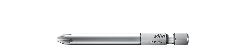 Wiha Bit Professional 70 mm Phillips 1/4' (35456) PH0 Wiha Werkzeuge GmbH 70410070