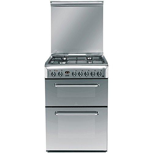 Indesit KDP60SES Double Oven Cooker - Inox