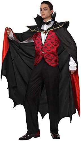 Atosa-12262 Disfraz Vampiro Para Hombre Adulto, color rojo, Xl ...