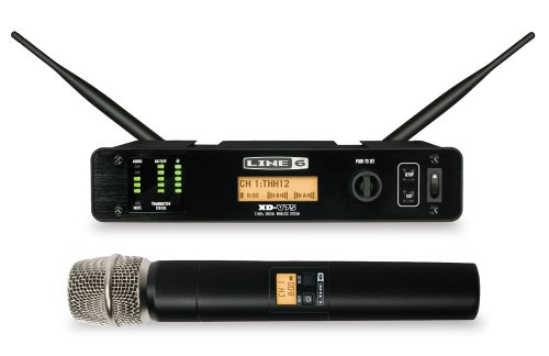 Line 6 XD-V75 Handheld Wireless Microphone (Rackmount Channel Six)