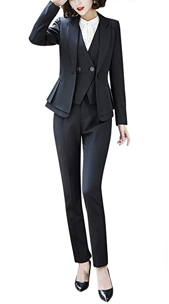 Amazon.com: Conjunto de 3 piezas de chaqueta Blazer para ...