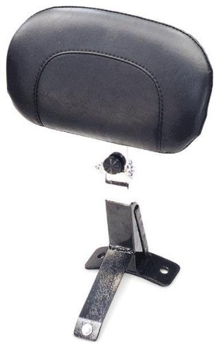 Mustang Motorcycle Seats Driver Backrest Kit - Harley-Davidson FLHT/FLTR/FLHR 1997-2008 - Smooth, No Studs ()