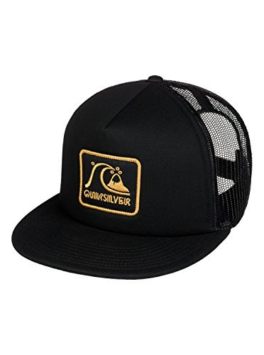21a612d027e Amazon.com  Quiksilver Mens Graffed Adjustable Hat Black  Clothing
