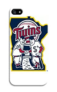 iphone 5s Protective Case,Good-Looking Baseball iphone 5s Case/Minnesota Twins Designed iphone 5s Hard Case/Mlb Hard Case Cover Skin for iphone 5s