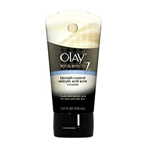 Olay Total Effects Blemish Control Salicylic Acid Acne Cleanser 5.0 Fl Oz (Pack of 3) by Olay