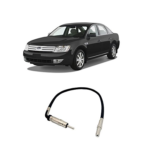 Aftermarket Taurus Ford (Fits Ford Taurus 2008-2009 Factory Stereo to Aftermarket Radio Antenna Adapter Plug)