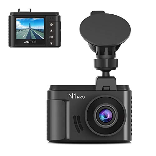 Vantrue N1 Pro Mini Dash Cam Full HD 1920x1080P Car Dash Camera 1 5 inch  160 Degree DashCam with Sony Night Vision Sensor, 24 Hours Parking Mode,