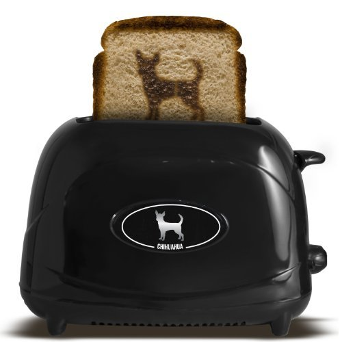 Pangea Brands TSTE-PET-CHU 2-Slice Pet Emblazing Toaster, Chihuahua by Pangea Brands
