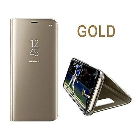Amazon.com: 1 piece Luxury Mirror Flip Case For iPhone 9 6 ...