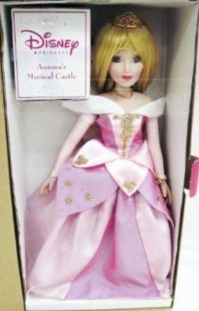 (Brass Key Keepsakes - Disney Porcelain Sleeping Beauty Doll (15
