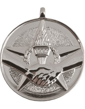 RC-ML122B, Star, Torch and Hands Shaking Achievement (Silver)