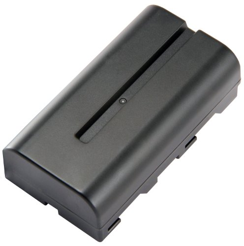 (STK's Sony NP-F550 2800mAh Battery is a Long Lasting Battery for Sony HandyCams and LED On-Camera Video Lights Using NP-F550 batteries)