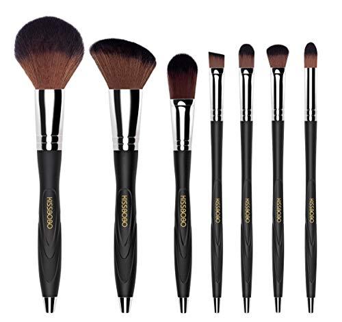KISSBOBO Makeup Brushes Softness durability and grip Beauty Brush Kit(7 ()