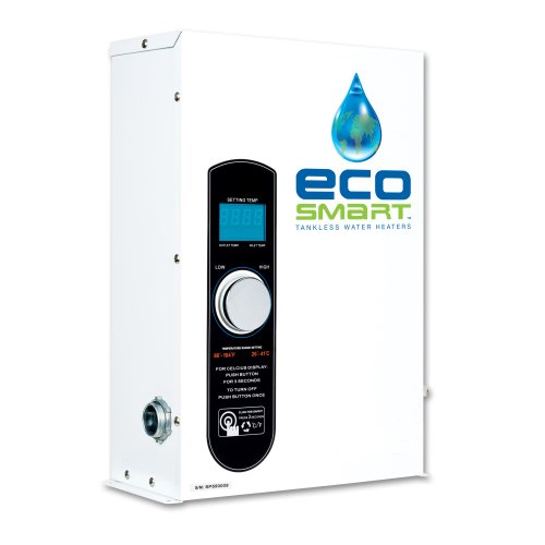 EcoSmart SMART POOL 27 Electric Tankless Pool Heater, 27kW, 240 Volt, 112.5 Amps with Self Modulating Technology