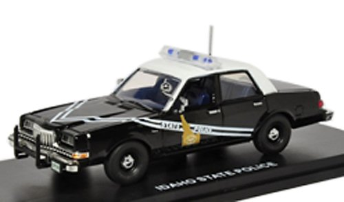 FIRST RESPONSE 1/43 1985 Dodge Diplomat Police Idaho State Police (japan import)