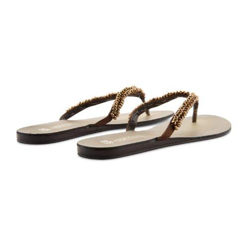 Footwear Sensation - Chanclas para mujer marrón - marrón