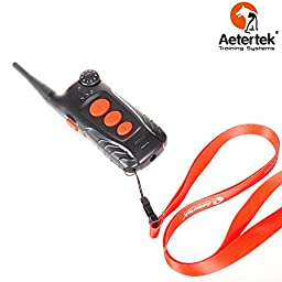 Aetertek At-218-2 100% Waterproof Remote Dog Training Shock Collar Auto Anit Bark for Sport / Hunting Dogs ,2 Dogs Trainer E-collar
