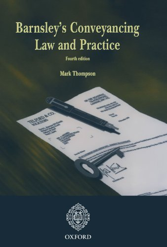 Barnsley's Conveyancing Law and Practice by Oxford University Press