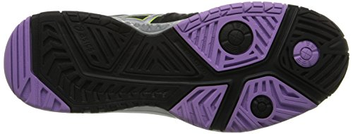 Asics Gel Resolution 6 WIDE Womens Tennis Shoe White/Silver - WIDE version Black/Silver/Orchid Z6OqRiip2z