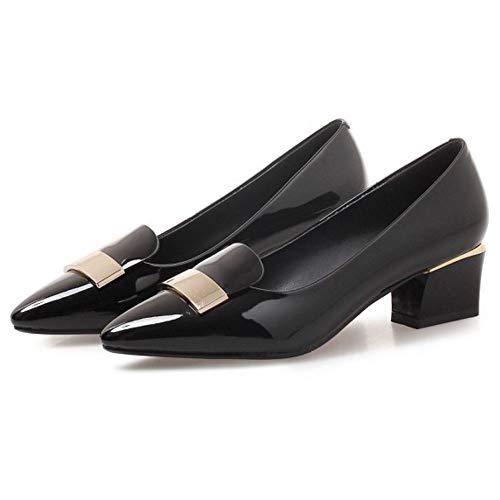Noir Femmes Heels Enfiler A Coolcept Chaussures Mode dYq8OqwP