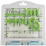Lime Green Strawz Connectable Build Your Own Straws Construction Kit - Fun Modular Interlocking Educational Toys