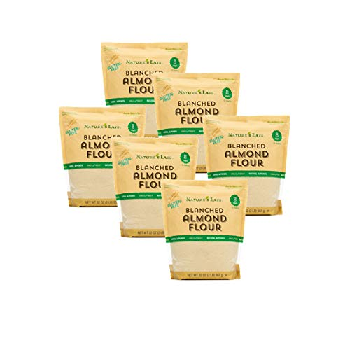 Nature's Eats Blanched Almond Flour 32 oz. (Pack of 6)