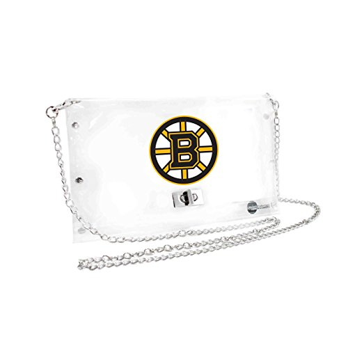 NHL Boston Bruins Clear Envelope Purse