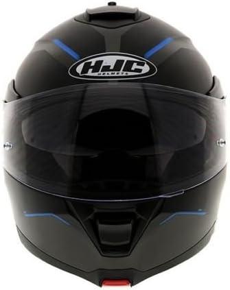 M Flip Front IS-MAX 2 Dova Blue Motorbike Motorcycle Flip Up Helmet Pinlock Ready