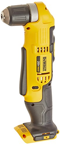 DEWALT DCD740B 20-Volt MAX Li-Ion Right Angle Drill (Tool Only) (Best Cordless Right Angle Drill)