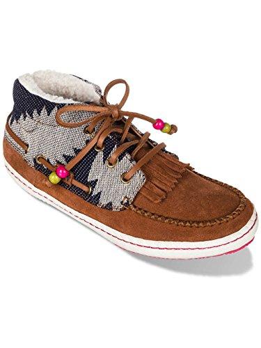 Roxy Damen Sneaker hellbraun/dunkelblau