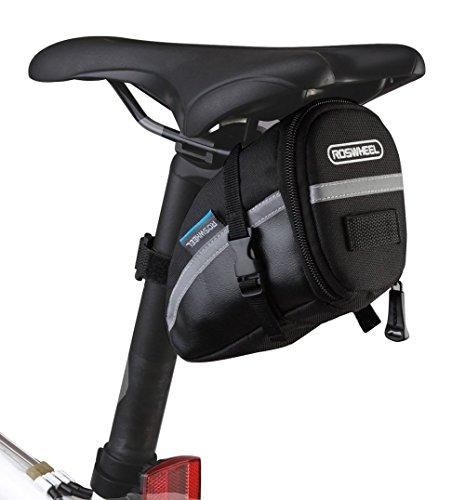 BicycleStore 1.2L Mountain Road MTB Bicycle Bike Cycling PU Saddle Bag,Bicycle Repair Tools Pocket Pack Riding Cycling Supplies