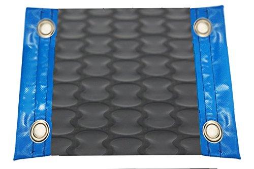 International International International Pool Protection Couverture thermique (Couvre-lit térmico-cubierta isotérmica-toldo pour piscine) de 500 microns Geo Bubble New Energy avec renfort dans les côtés étroits + oeillets en acier inoxydable 5 x 6m e7cf7e