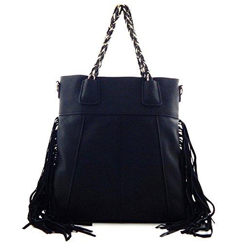 Fringed Bag Black - 3