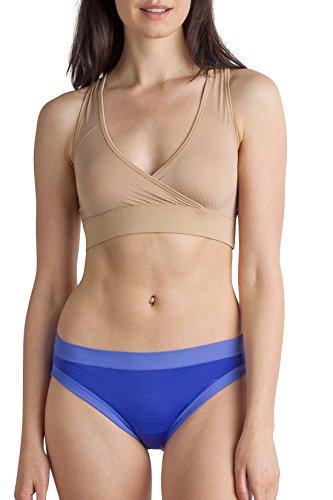 ExOfficio Bras for Women | Bralette | Give-N-Go Sport Mesh Bralette, Buff, X-Large