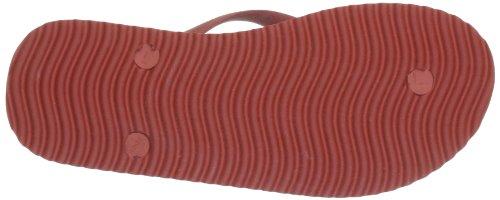 flip*flop Chanclas de Caucho para Mujer Rojo (Clay 850)