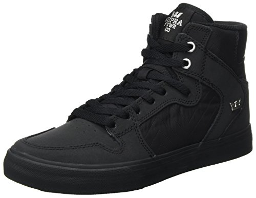 Supra Mens Vaider Black Black Shoes Size 9.5 by Supra