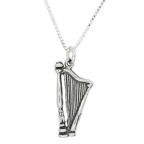 sterling-silver-double-sided-small-harp-musical-instrument-necklace