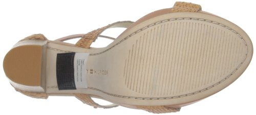 Beige Hilfiger 12z femme Cotto Ashley Semelle Tommy compensée qYOdqE