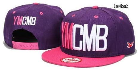 YMCMB Snapback Purple casquillo azul imagen 4: Amazon.es: Deportes ...