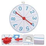 VALICLUD Wall Wheel Spinner Spinning Prize Wheel 10