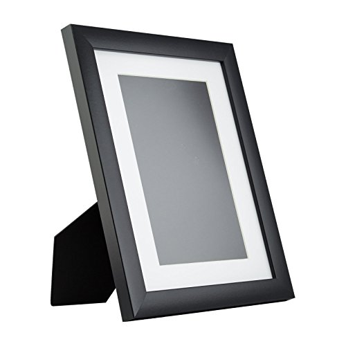 craig frames 1wb3 tabletop 85 x 11 standing picture frame with mat black