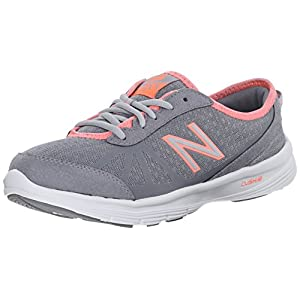 New Balance Women's WW511BB1 Walking Shoe, Grey/Pink, 6.5 B US