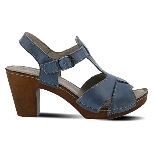 Spring Cynder Women's Leather Blue Step r48wqr