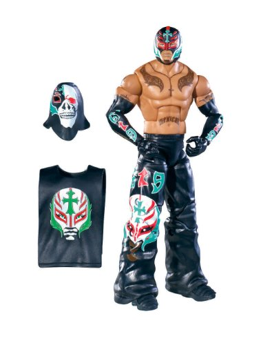 WWE Collector Elite Rey Mysterio Figure - Series 11 by Mattel