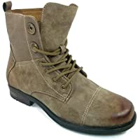 Men's 508010 Lace Up Military Inspired Tall Army Boots